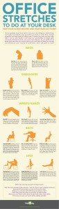 [INFOGRAPHIC] Office Stretches for Chronic Back Pain | Comprehensive Pain Management Center