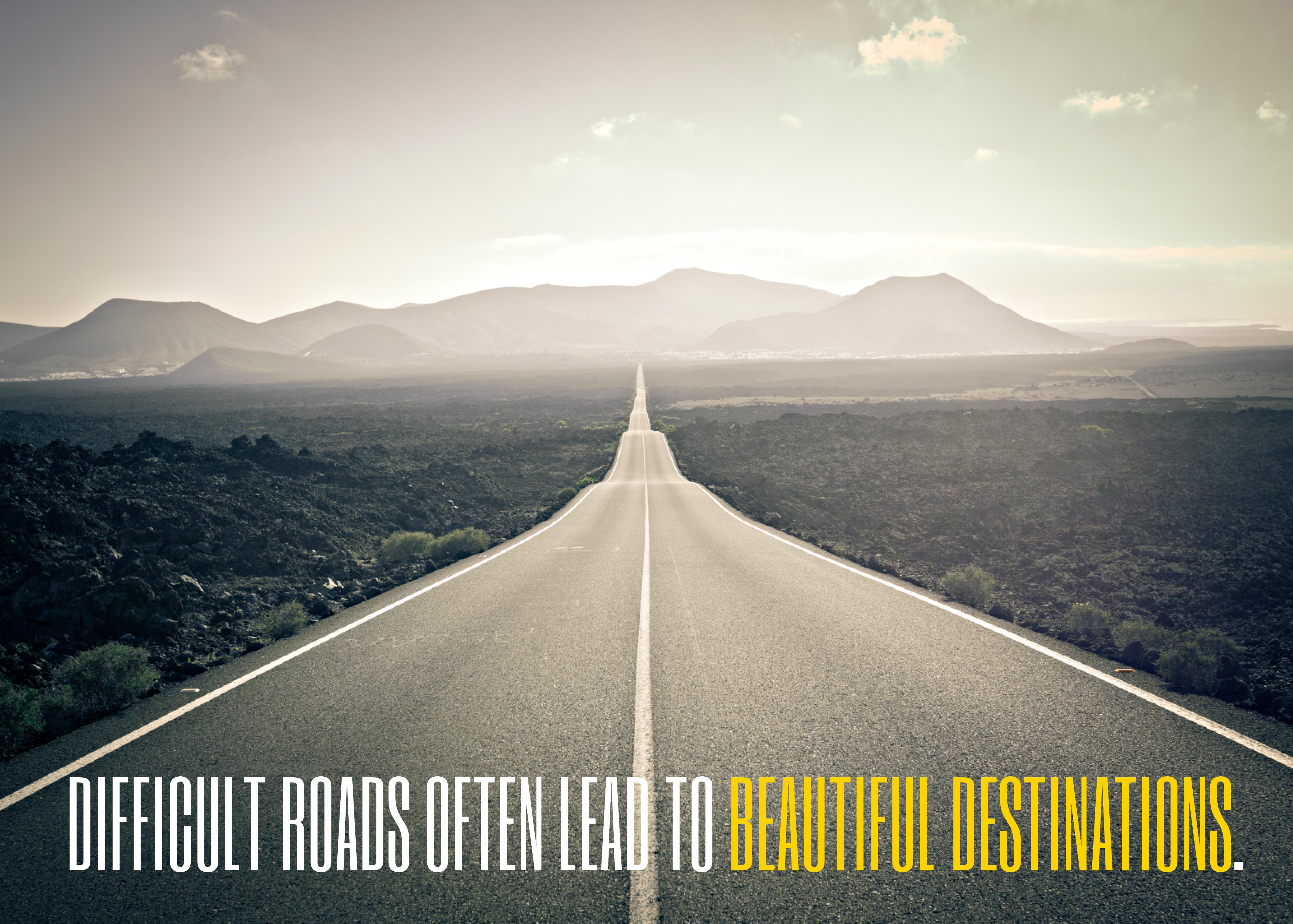 Roads Often Lead To Beautiful Destinations