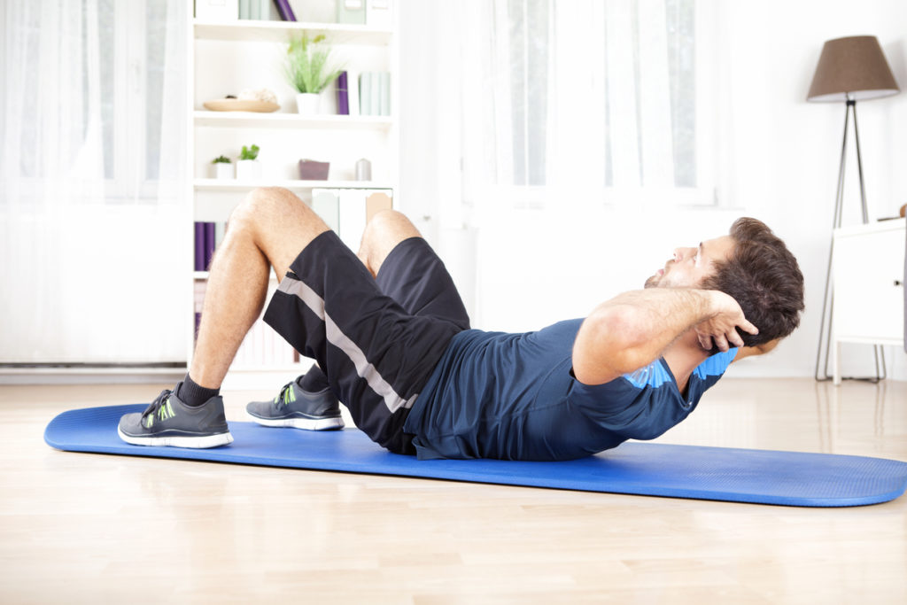 Partial Crunches for Pain Relief | Comprehensive Pain Management Center